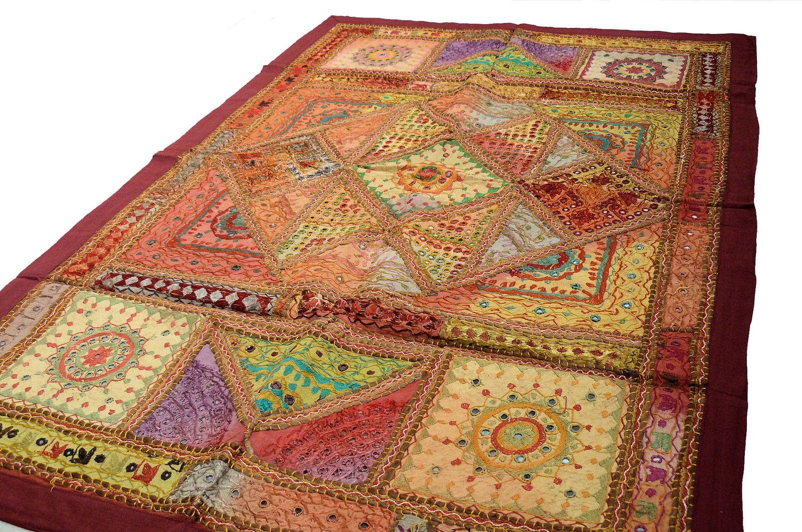 Wandbehang wand teppich indien patchwork wand schmuck deko - Wandbehang patchwork ...